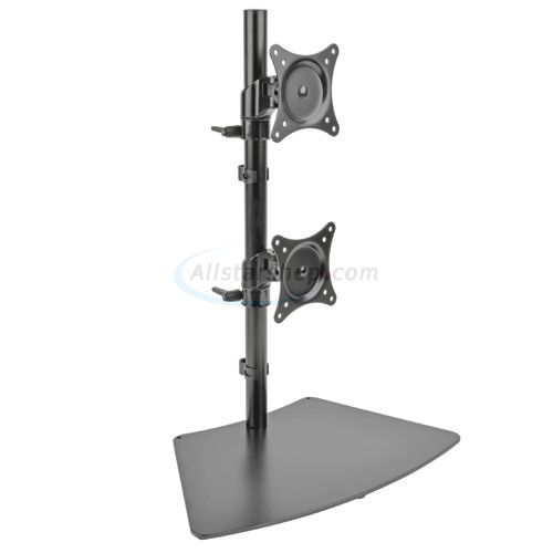 Tripp Lite Ddr1527sdc Dual Vertical Desk Mount Monitor Stand