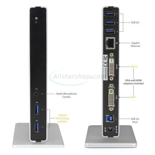 Startech Dk30bacdd Dual Monitor Docking Station For Usb C