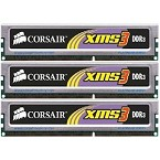 Corsair XMS3 6GB Kit (3x2GB) DDR3-1600 CL8 240-pin DIMM TR3X6G1600C8