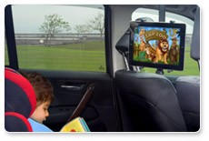 h7 dura mount works well in your car as a personal entertainment system kids would love watching their favorite movies in the back seat while you enjoy the